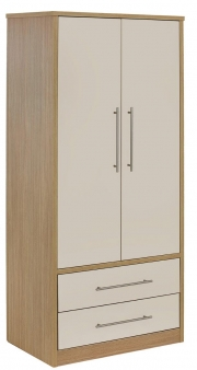 Tiffaney 2 Door Wardrope with Drawers